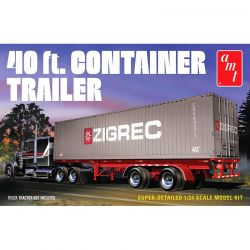 AMT Models 1/24 40 Semi Container Trailer [AMT1196]
