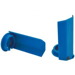 Blue Shock Shaft Gaurds for Traxxas X-Maxx
