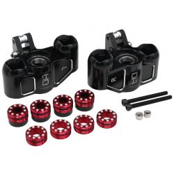 Triple Bearing Support Steering Blocks Arrma 1/5