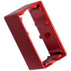 Servo Case - Aluminum (Red-Anodized) (Middle) (for 2255 Servo)