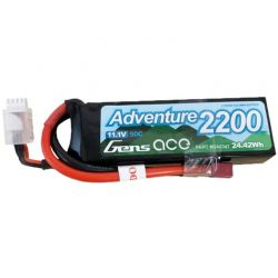 2200mAh 3S1P 11.1V 50C LiPo Battery with Deans Plug