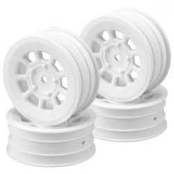 9 shot 2.2 front wheel white - 4pc