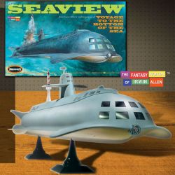 Moebius Models Voyage to the Bottom of the Sea 8 window Seaview [708]