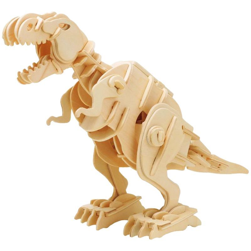 Walking T-Rex Wood Kit
