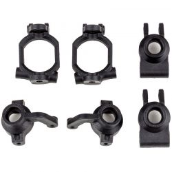 Associated Rival Mt10 Caster and Steering Block Set [25818]
