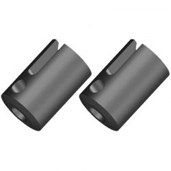 Corally Pinion Outdrive Cup - Rtr - Steel - 2 Pcs: Dementor, Kronos, Pyt [C-00180-155-1]