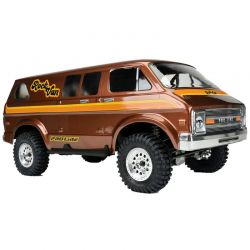Pro-Line 70 s Rock Van Clear Body for 12.3 WB Crawlers [3552-00]