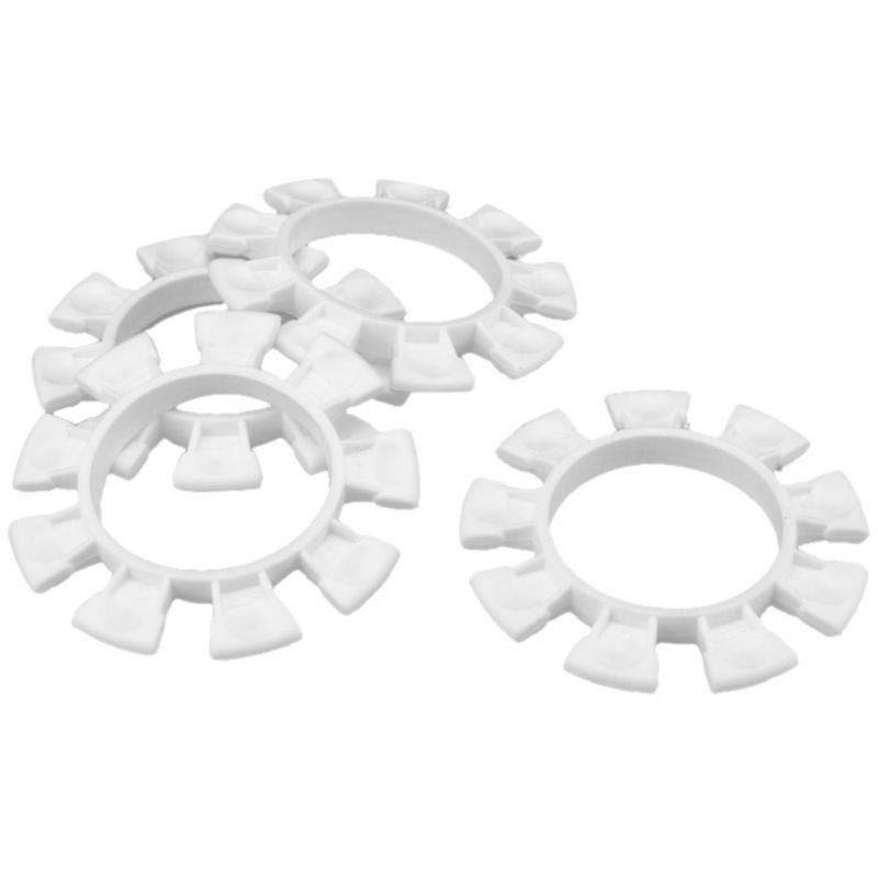 JConcepts Satellite tire gluing rubber bands : White [2212-3]