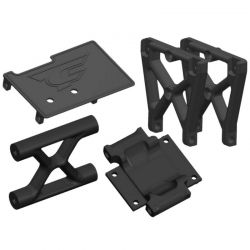 Corally Center Roll Cage Mount - Composite - 1 Set: Dementor [C-00180-301]