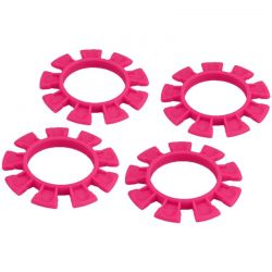 JConcepts Satellite tire gluing rubber bands : Pink [2212-4]