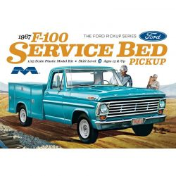 Moebius Models 1/25 1967 Ford F100 Service Bed [1239]