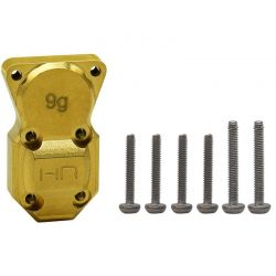 Hot Racing 9g Brass Diff Cover SCX24 [SXTF12CH]
