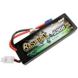 5200mAh 7.4V 2S1P 35C car LiPo Battery Pack Hardcase with EC3