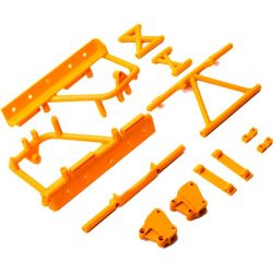 Cage Supports Battery Tray Orange : RBX10