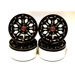 "Aluminum ""B-Style"" 1.9 Beadlock Wheels 12mm Hex (4)"
