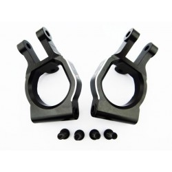 Aluminum Spindle Carrier Caster Block Set: Losi Desert Buggy XL
