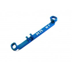 Aluminum Steering Link Short +1 Deg (Light Blue) - Kyosho Mr-03