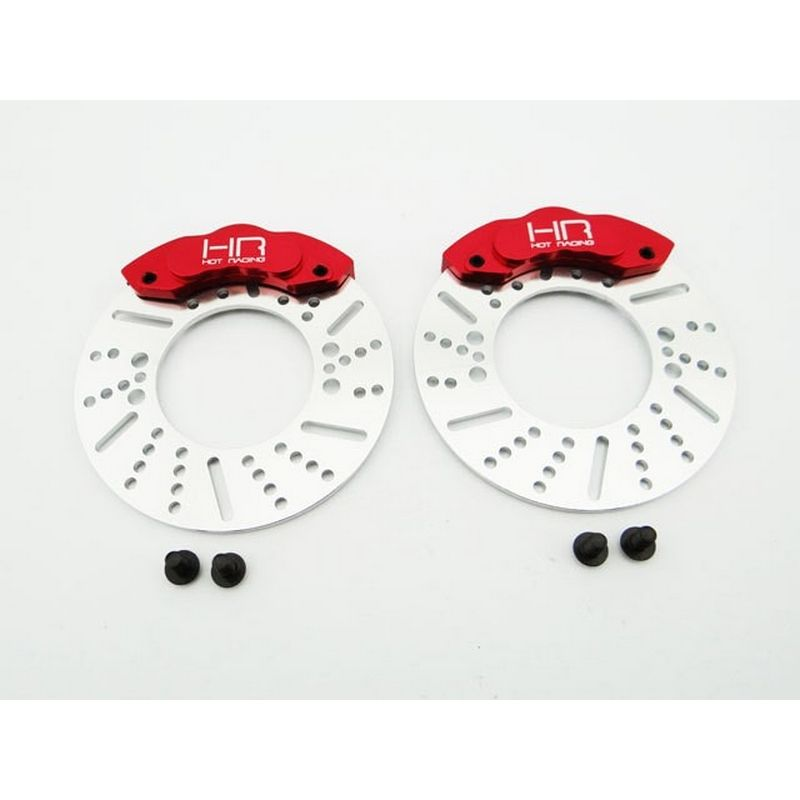 Disc Brake 49mm Rotors and Calipers for Rvo21xg** - 1/10 Revo