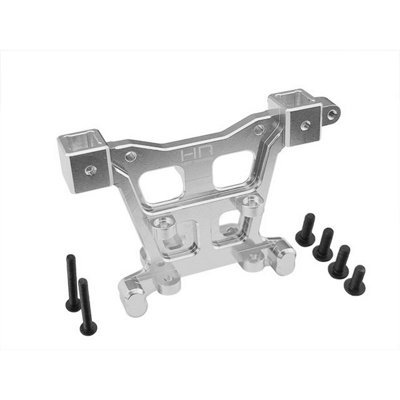 Aluminum Rear Body Mount (Silver) - E-Revo Revo Slayer Summit