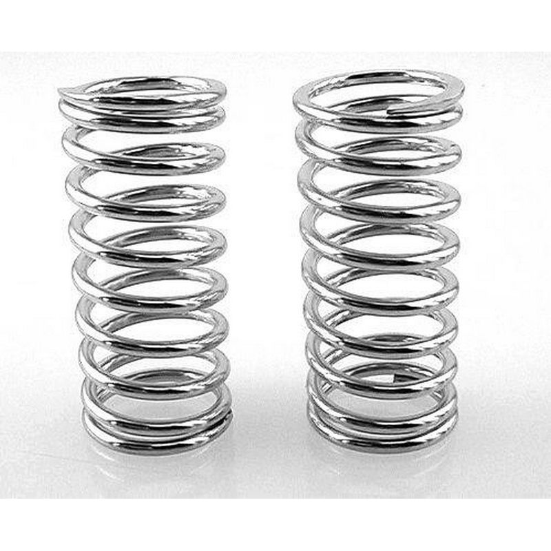 High Lift Shock Springs (chrome 15lb/in)(2) - Traxxas GTR Shocks