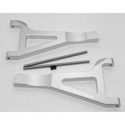 Aluminum Front Upper Arm Set (Silver) - Tra Summit Revo E-Revo