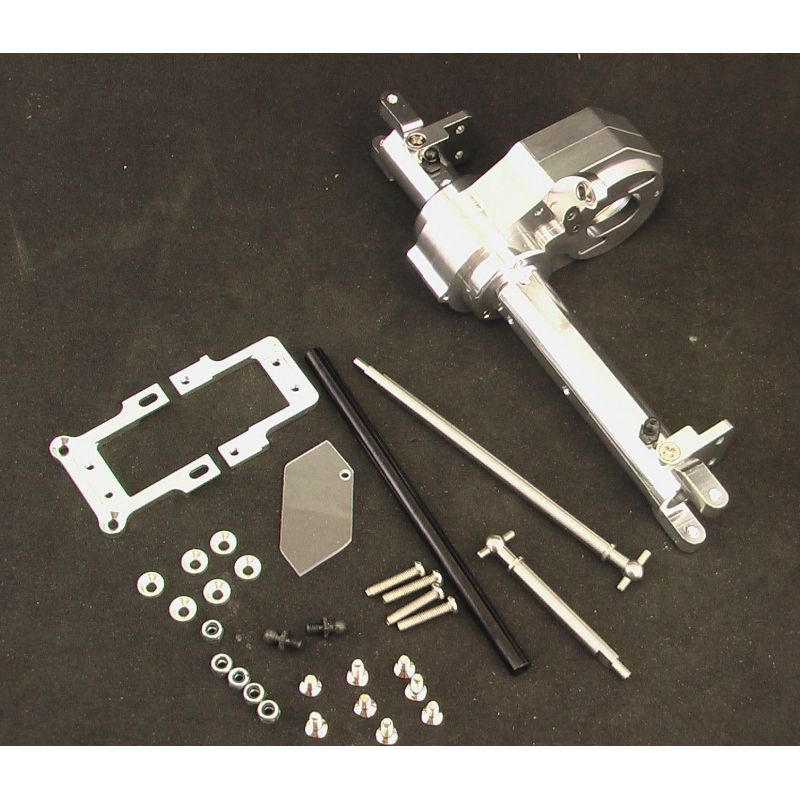 Hot Racing Silver MOA Steering Axle Kit [SCP12LC08]