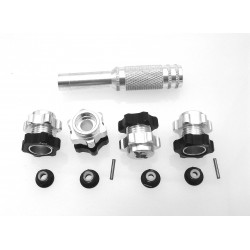 Aluminum 17mm Hex Wheel Hub Adapters