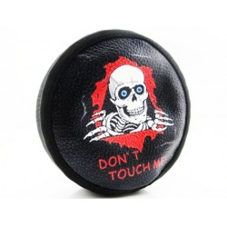 1/10 Scale Skull Don t Touch Me Spare Tires Cover - Scx10 (toy)