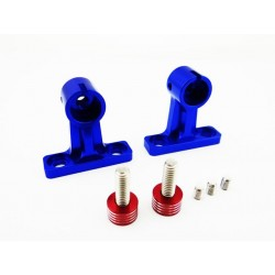 Blue Aluminum Trim Tab Adjusters