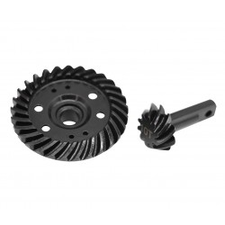 Hot Racing Steel Helical Spiral Differential Ring/Pinion Gear Set (29t/10t) [SRVO1029T]