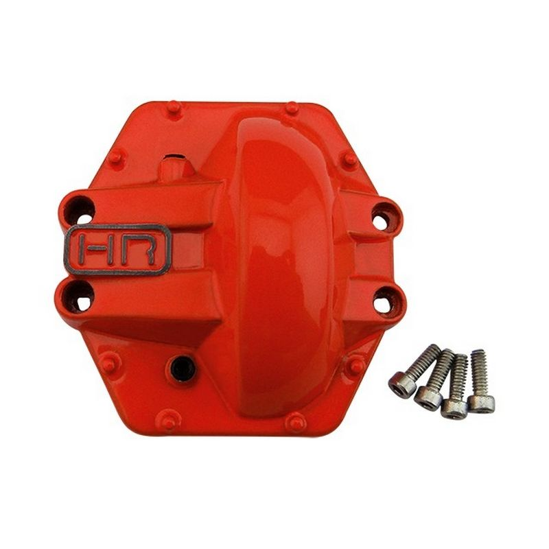 Orange Metal Low Profile AR60 Diff Cover Rear Yeti AX10