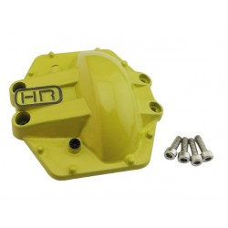Metal Low Profile AR60 Diff Cover (Yellow) - Yeti Wraith AX10