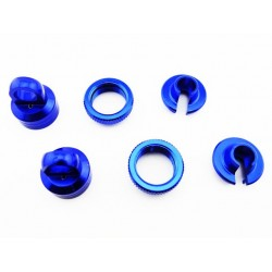 Aluminum 10mm Shock Upgrade Kit (Blue) - Yeti Wraith AX10 EXO