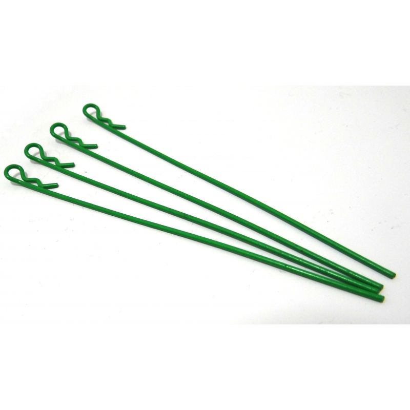 Green 2 in 1 Body Clips(4) 100mm