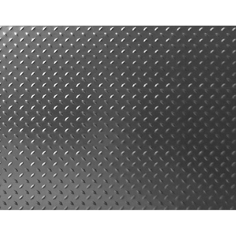 1/10 Scale Aluminum Diamond Plate (2) - Titanium Grey