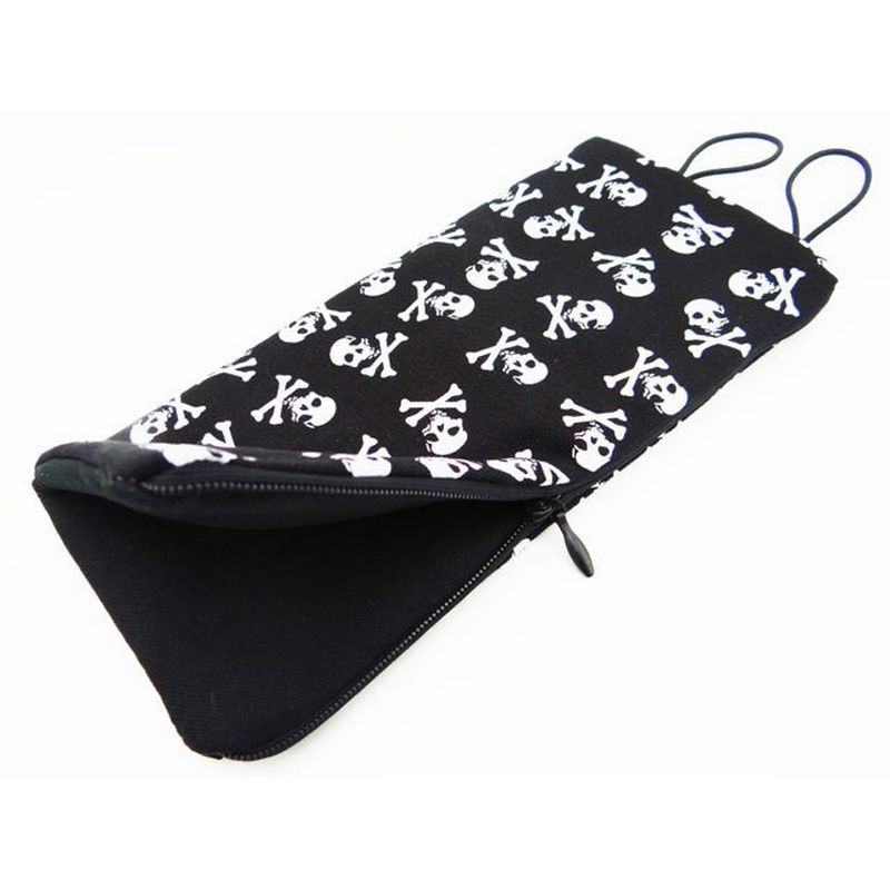 Hot Racing 1:10 Scale Black and White Skull Sleeping Bag (Toy) [ACC58S08]