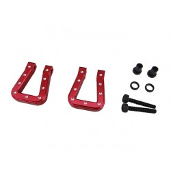 Red Aluminum Monster Flat Hook for TRX4