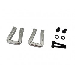 Silver Aluminum Monster Flat Hook for TRX4