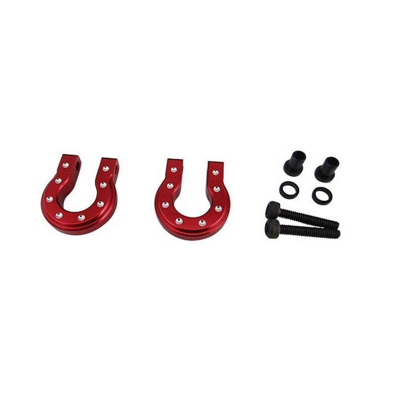 Red Aluminum Monster D Ring for TRX4