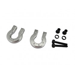 Silver Aluminum Monster D Ring for TRX4