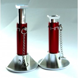 Red Scale Look Aluminum Jack Stands
