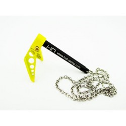Hot Racing 1/10 Scale Portable Fold Up Winch Anchor Yellow/Black [ACC838F04]