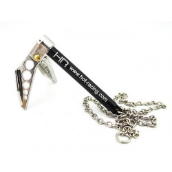 1/10 Scale Portable Fold Up Winch Anchor Silver/Black