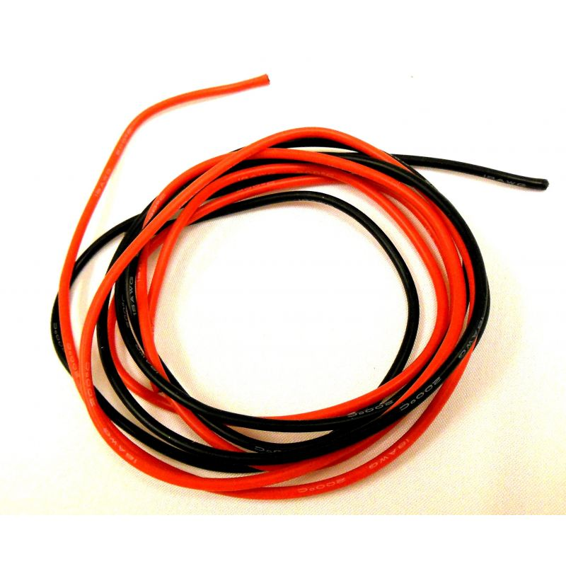 X Spede Silicone Wire 150 Strand 18 G 2 M (6ft 8in) [ACE18G12]
