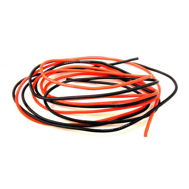 X Spede Silicone Wire 60 Strand 22 Gauge 2 m (6ft 8in) [ACE22G12]