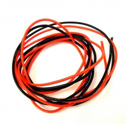 X Spede Silicone Wire 40 Strand 24g 2 M (6ft 8in) [ACE24G12]